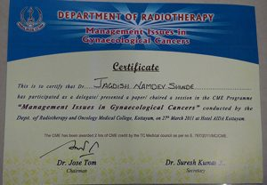 Radiation oncologist in Pune